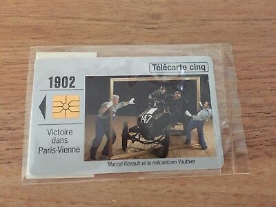 Collectable Phonecards. Telecarte Phonecard Renault 1902