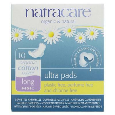 Natracare Ultra Pad - Long with Wings (10 per pack)