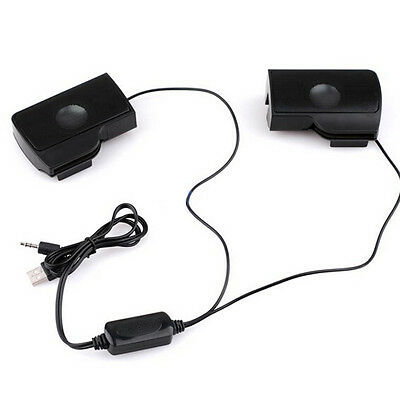 Best 6W Mini USB Power Stereo Speaker System Computer Laptop PC Desktop Notebook