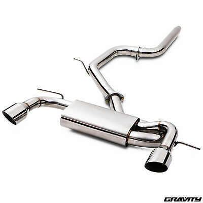 "3"" Stainless Cat Back Sport Exhaust System For Seat Leon 2.0 Tdi Tfsi Fr 05-12"