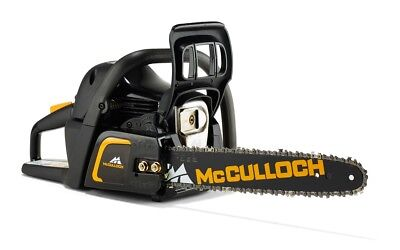 "McCulloch CS 42S 16"" Petrol Chainsaw 42cc 2 Stroke Engine RRP £189.99"