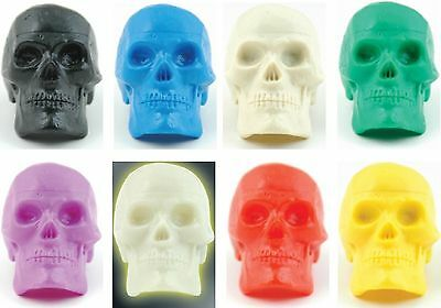 Bead Brain SKULL Percussion Shakers with a Choice of 8 Colours - Spooky!