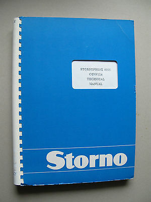 Storno CQM6110 - Stornophone 6000 Service Manual - Publication No: 8311.6110-02