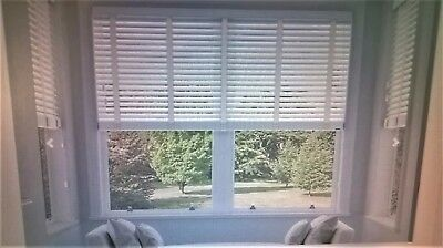 Faux Wood Impression Venetian Blinds With Tapes  Made To Measure Child Safe