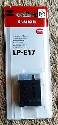 Genuine Canon LP-E17 Lithium-Ion Battery Pack - NEW