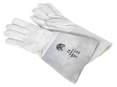 Ssp142 Sealey Tig Welding Gauntlets Pair Gloves