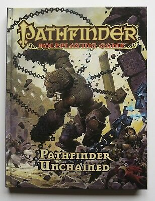 Pathfinder Roleplaying Game Pathfinder Unchained Hardcover Book Paizo RPG
