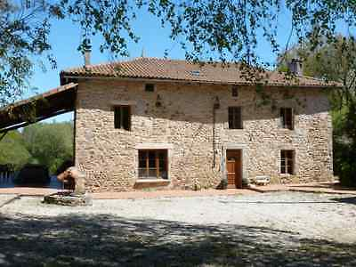Stunning France 5 bedroom stone farm house home sale French holiday near Limoges