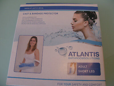Atlantis Waterproof Plaster Cast, Dressing, Bandage Protector Bath or Shower