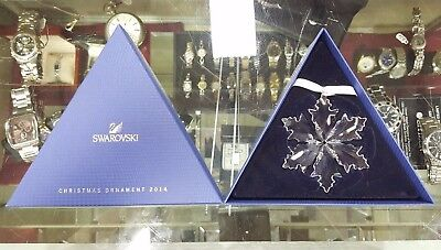 2014 Swarovski Crystal Large Snowflake Christmas Tree Ornament - NEW!