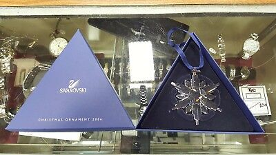 2006 Swarovski Crystal Large Snowflake Christmas Tree Ornament - NEW!