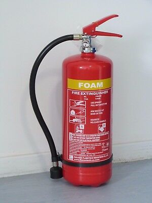 Foam Fire Extinguisher 6ltr with CE/BSI Approval