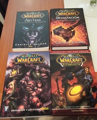 Coleccion de comics y libros World of warcraft