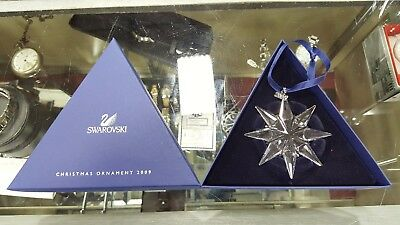 2009 Swarovski Crystal Large Snowflake Christmas Tree Ornament - NEW!