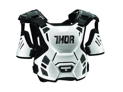 Thor Kinder Brustpanzer Protektor Schutz Guardian weiß Motocross Quad MX Cross