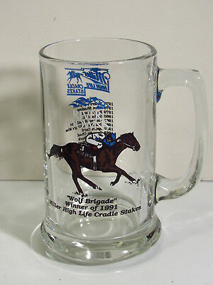 River Downs Winners  - Miller High Cradle Stakes -1991 Wolf Brigade - Beer Mug