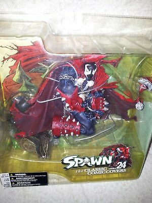 MCFARLANE SANTA SPAWN Action Figure Classic Comic Covers Series 24 i.39 Variant