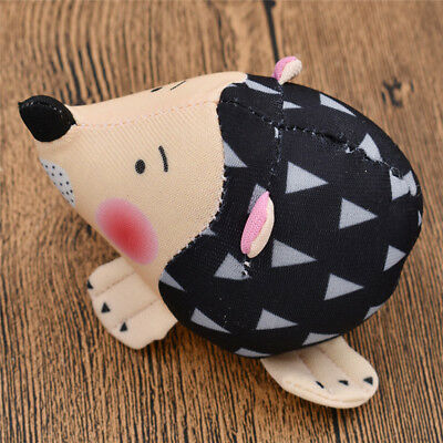 Cute Hedgehog Shaped Fabric Needle Pincushion Handmade Sewing Supply Craft