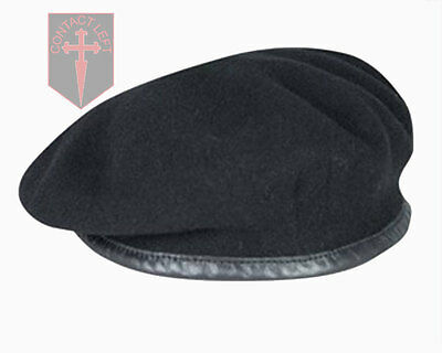 NEW High Quality Black British Army Beret - All Sizes - ( RTR , Dragoons )