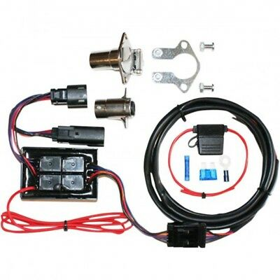 Harness trailer wiring kit 4 wire plug and p... - Khrome werks 39020160 (720751)