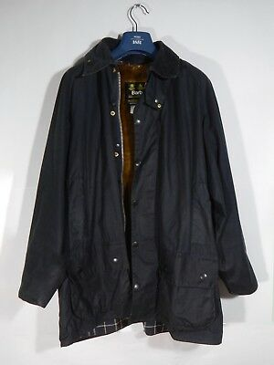 England Barbour Beaufort A155 Waxed Men's  Jacket C46/117CM Fishing Hunting Mint