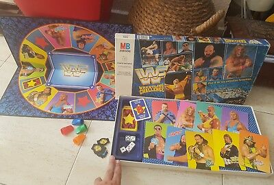 Antiguo Juego Wwf Wf De Mb Wrestling Challenge Pressing Catch 1991 Completo