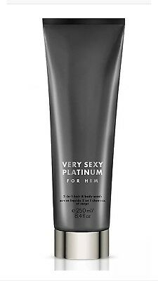 Victorias Secret Very Sexy Platinum for Him 2-in1 Hair & Body Wash