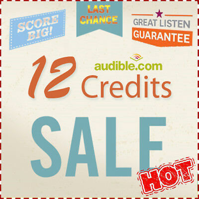 Audible.com USA Account with 12 Credits & Annual GOLD Membership PLAN -> SPECIAL