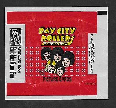 1975  Topps  Bay City Rollers Trading Cards   Wrapper