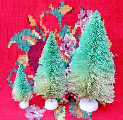 Cody Foster Ombre Christmas Trees Green Set of 3