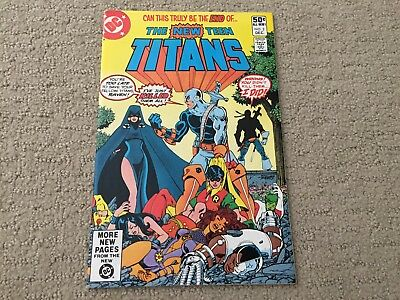 New Teen Titans #2 NM 1ST App of Deathstroke KEY DC Comic CGC it!
