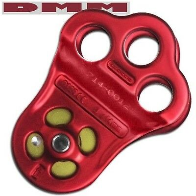 DMM Hitch Climber Pulley - Triple Attachment