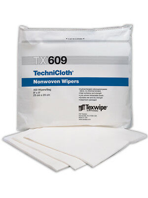 Texwipe TechniCloth Blended Nonwoven Cleanroom Wipers 300/Bag