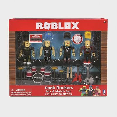 NEW Roblox - Build A Figure - Punk Rockers Mix & Match Set