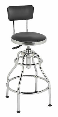 SCR14 Sealey Workshop Stool Pneumatic with Adjustable Height Swivel Seat