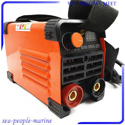 Mini MMA Electric Welder 220V 20-250A Inverter ARC Stable Welding Machine Tool