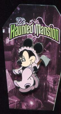 Disney Pin The Haunted Mansion Minnie Mouse as Constance Bride Disneyland GWP