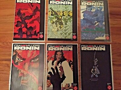 Ronin (1983)  1-6 Complete Set ~ Frank Miller 1 2 3 4 5 6 (Fine to NM) DC Comics