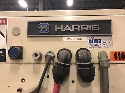 RIMA RS10 Harris Graphics compensating counter Stacker