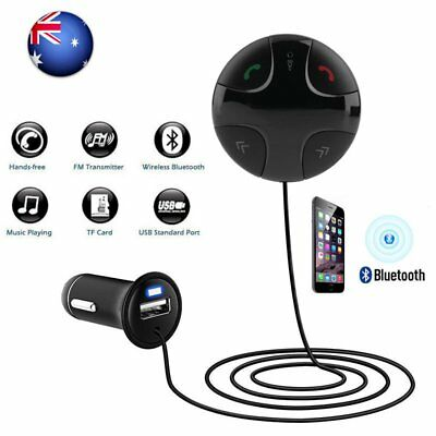 Handsfree Wireless Bluetooth FM Transmitter Car Kit Mp3 Player w/ USB Charger