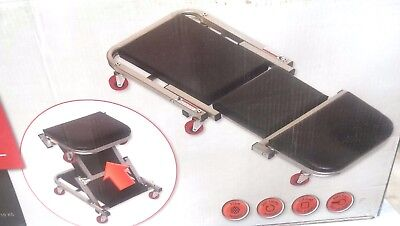 Car Vehicle Roller Seat Creeper Trolley Combo 2 in 1 - NEW - Free* Metro Freight
