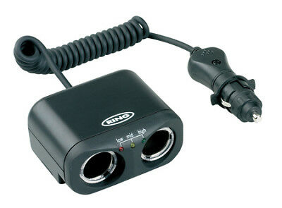 RMS2 RING AUTOMOTIVE Twin MultiSocket with Battery Analyser (POWERING)