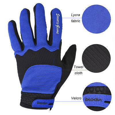 Warm Antiskid Sport Riding Bike Cycling Gloves Touch Screen PU Unisex Outdoor XL