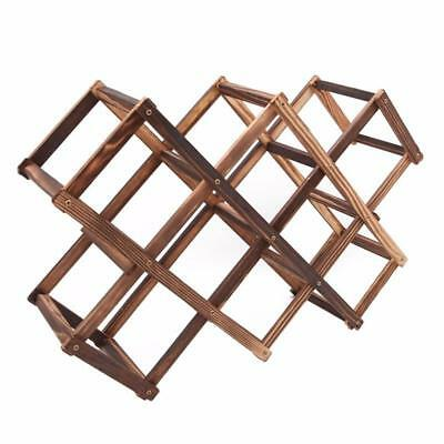 Wooden Red Wine Rack 3/6/10 Bottle Mount Holder Exhibition Organizer Valuable