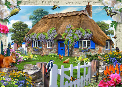 19094 Ravensburger Country Cottage Collection Wisteria 1000Pc [Jigsaw Puzzle]
