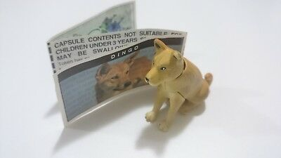 "Cadbury Yowies AU Series 1 ""Short Pins"" RARE Dingo Variation + Papers"