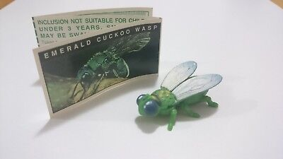 "Cadbury Yowies AU Series 1 ""Black Belly"" Emerald Cuckoo Wasp Variation + Papers"