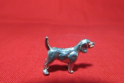 Pewter Pointer Dog Figurine