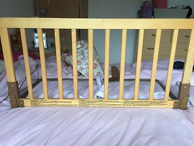 Wooded Bed Guard