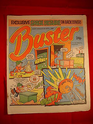 The Buster Comic - 5th April 1986